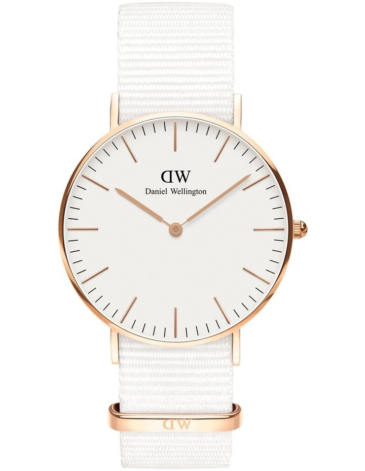 Classic 36 Dover Rose Gold White DW00100309 image 1