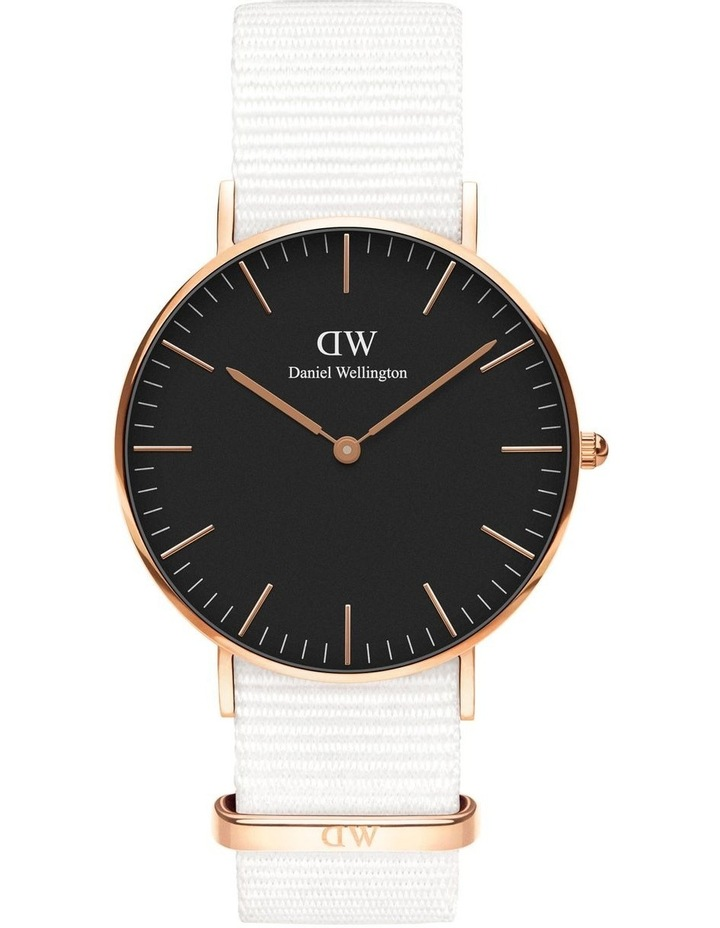 Classic Dover 36mm RG Black Dial Watch image 1