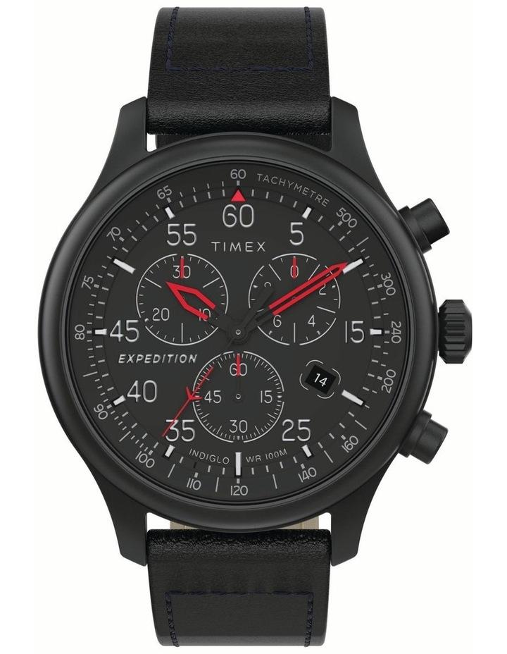 Timex TW2T73000 Black Black Watch image 1