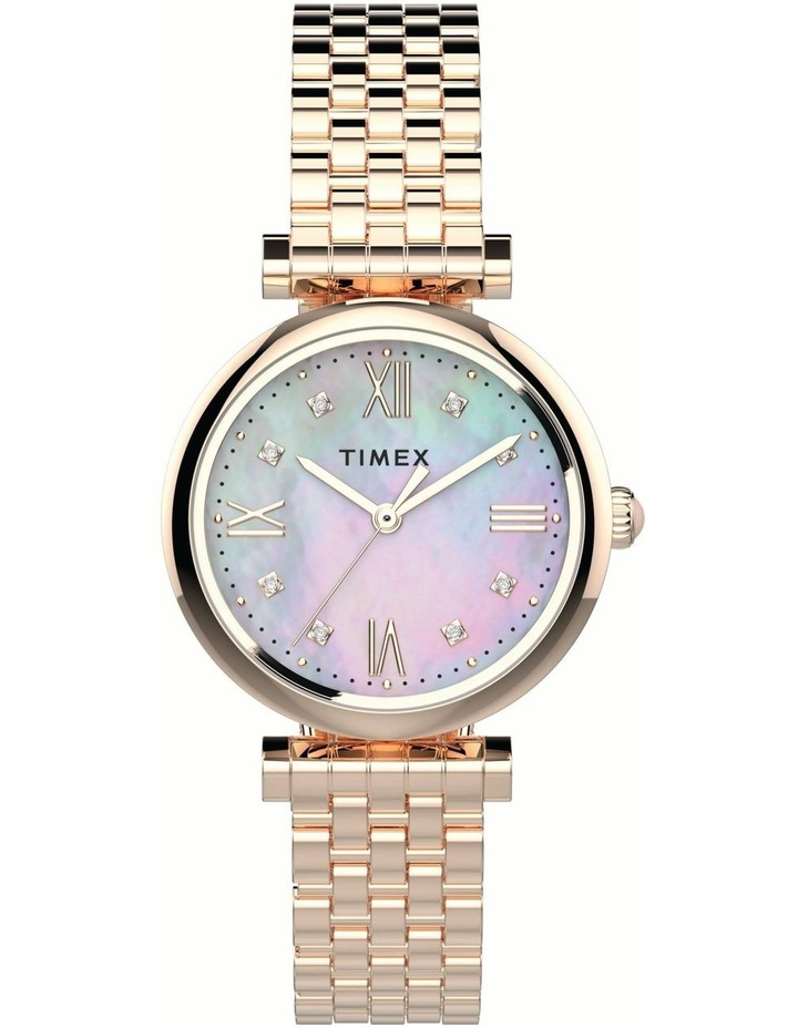 Timex TW2T78800 Dress Rose Watch image 1