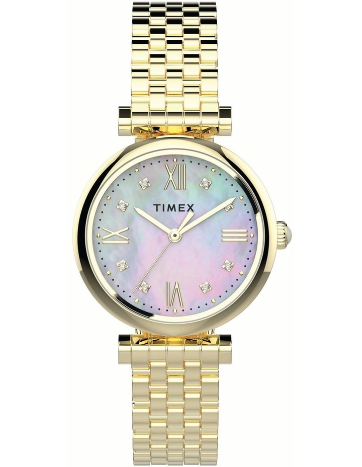 Timex TW2T78900 Dress Gold Watch image 1