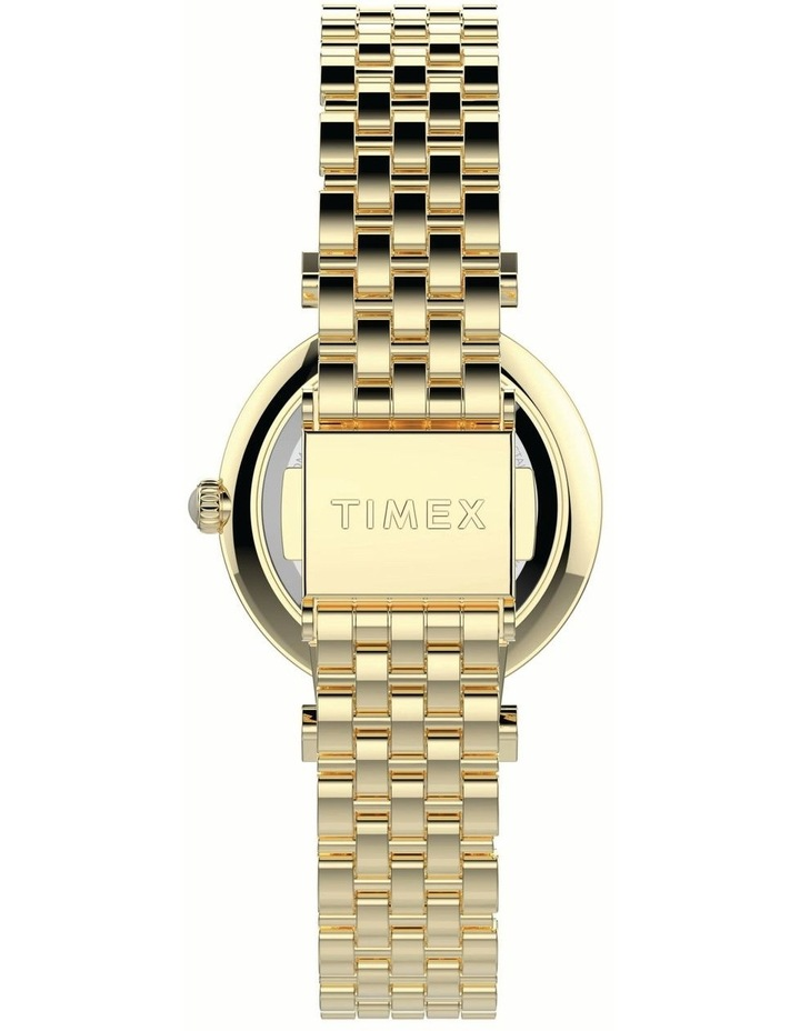 Timex TW2T78900 Dress Gold Watch image 3
