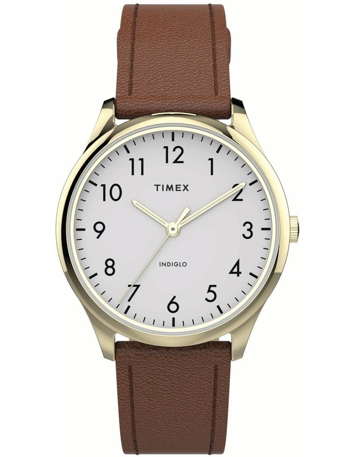 Timex TW2T72300 Easy Reader Tan Watch image 1