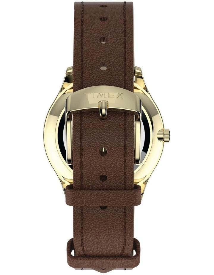 Timex TW2T72300 Easy Reader Tan Watch image 3