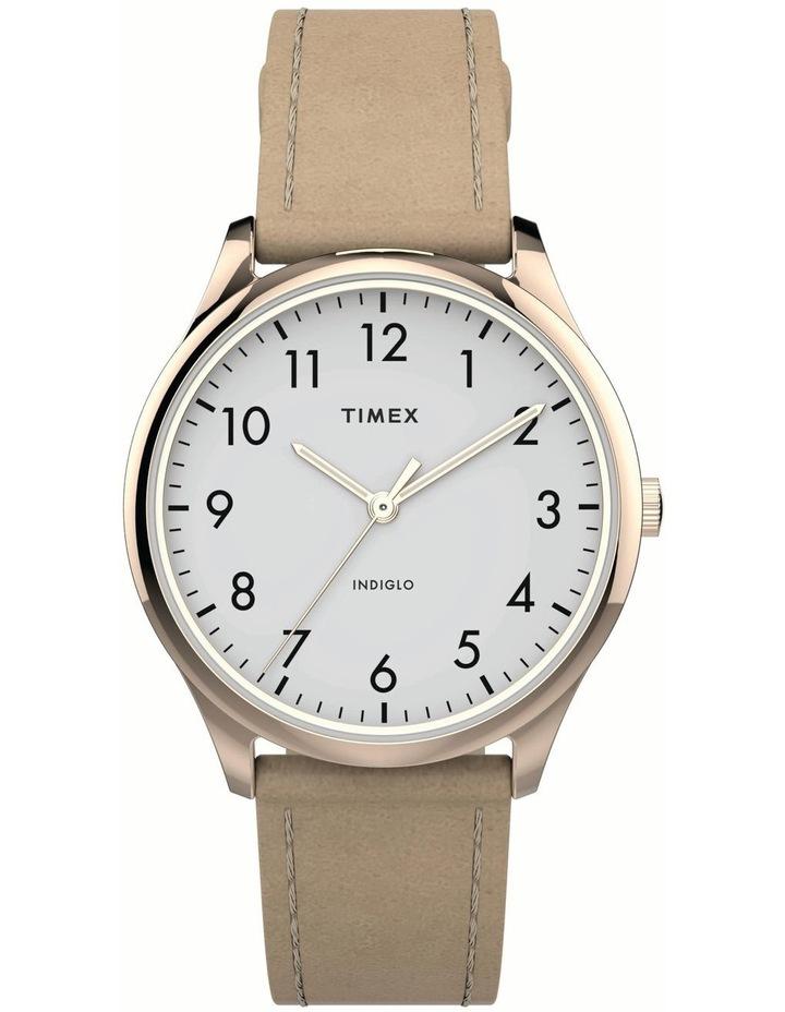 Timex TW2T72400 Easy Reader Beige Watch image 1