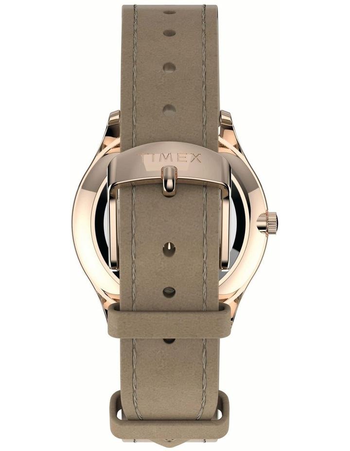 Timex TW2T72400 Easy Reader Beige Watch image 3