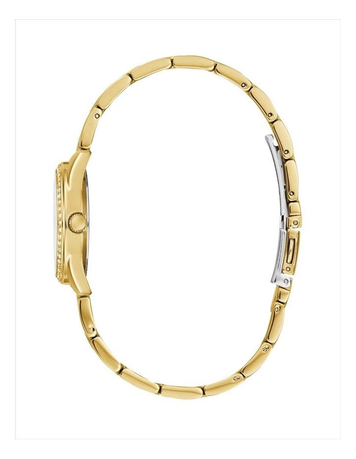 Guess W1273L2 Micro G Twist Stones Gold Bracelet image 2