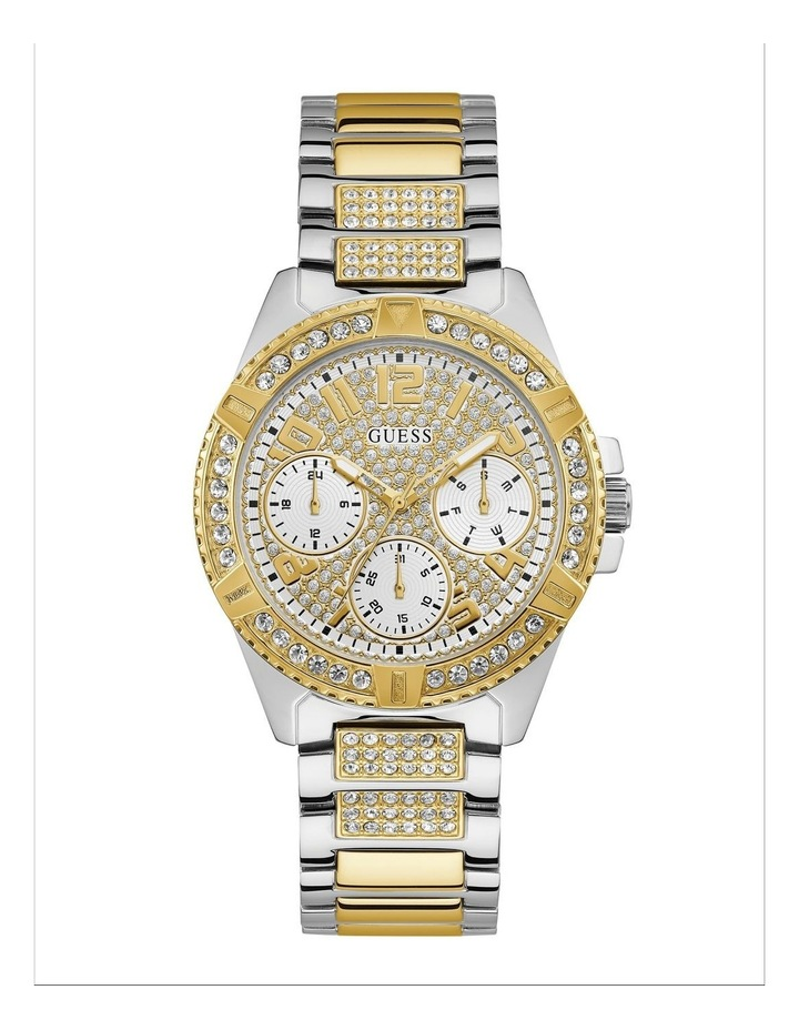 Lady Frontier Silver/Gold Stainless Steel Luxury Watch W1156L5 image 1