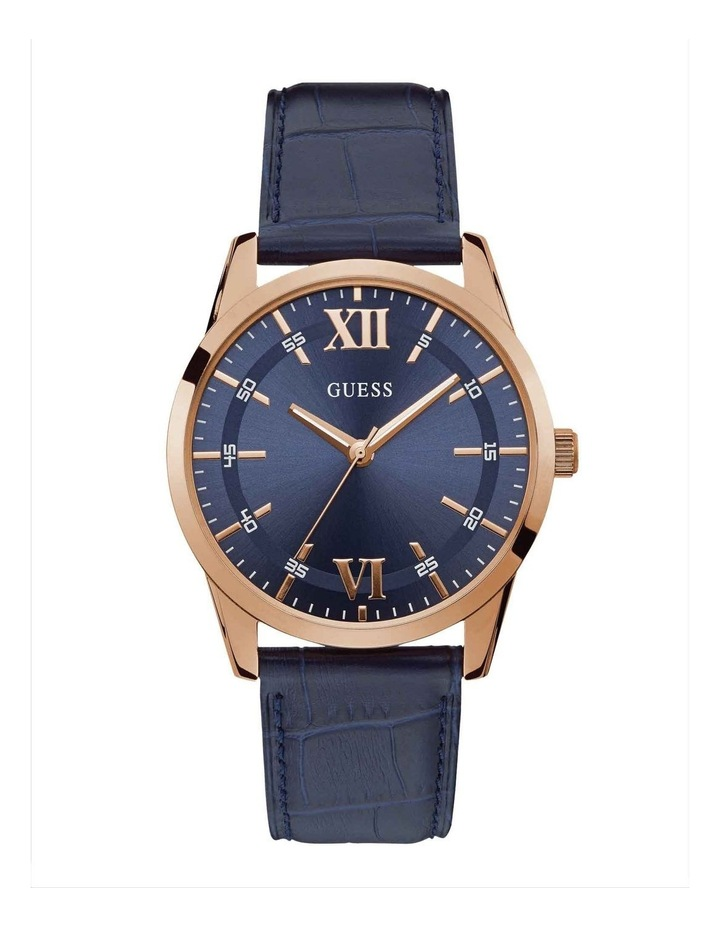 Guess W1307G2 Theo Blue Leather image 1