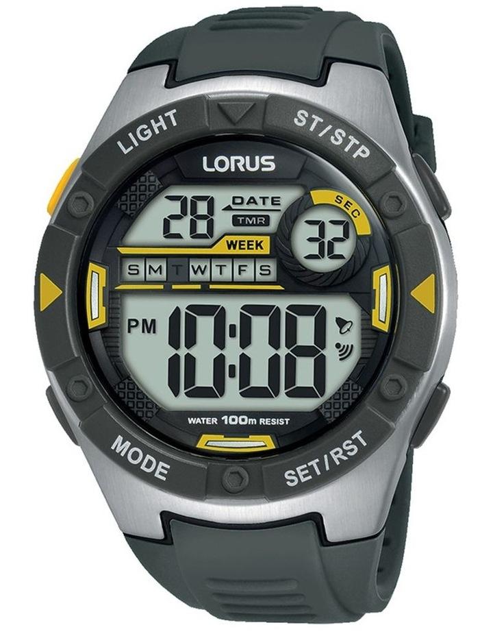 Gents Grey Digital Sports Watch Lorus R2397MX-9 image 1