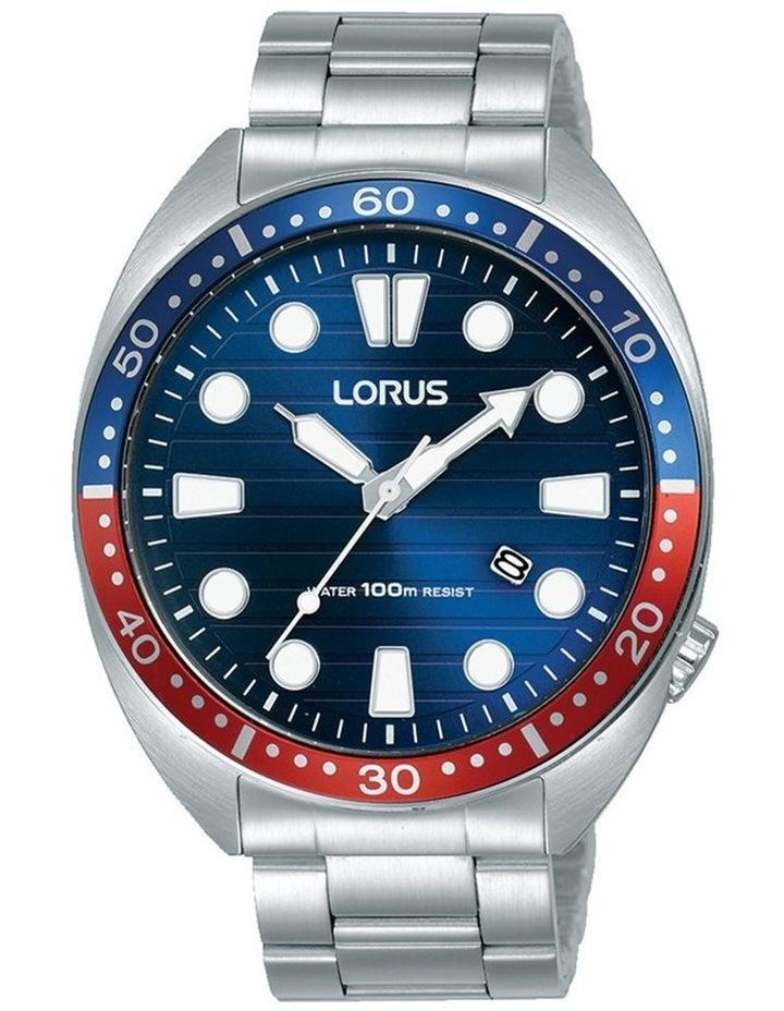 Gents Red & Blue Steel Sports Watch Lorus RH925LX-9 image 1