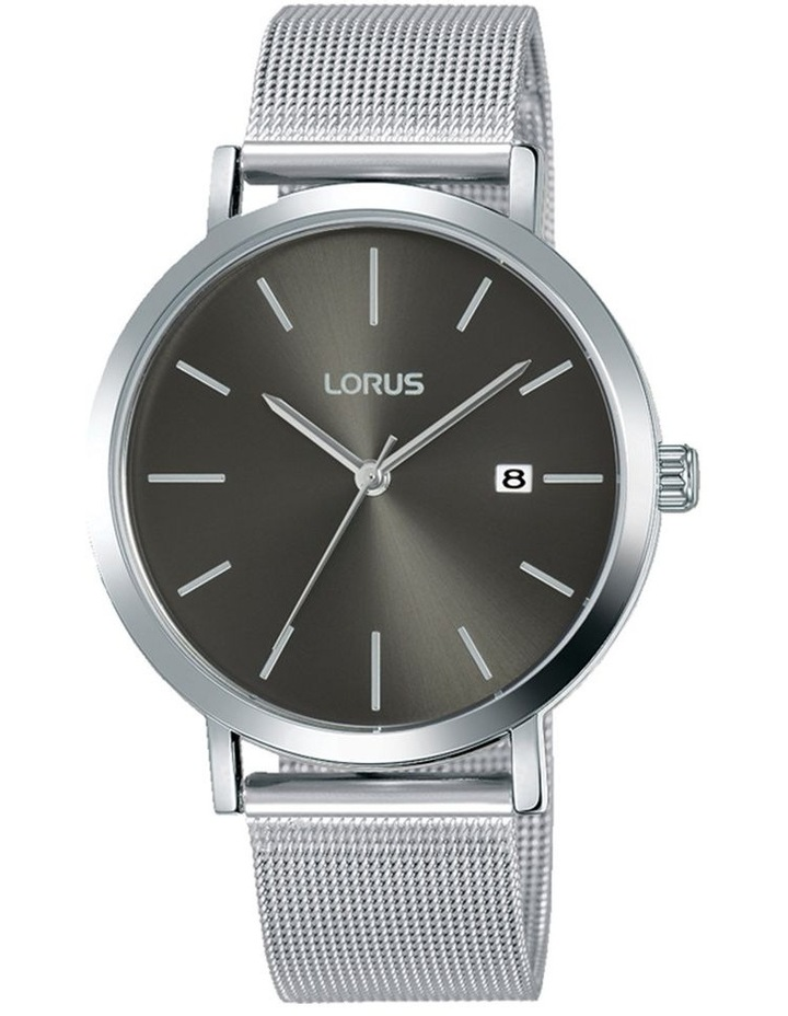 Gents Silver Mesh Dress Watch Lorus RH919KX-9 image 1