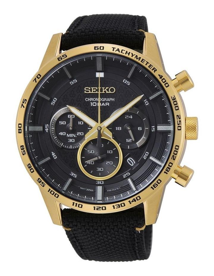 Gents Sports Chronograph Watch Seiko SSB364P image 1
