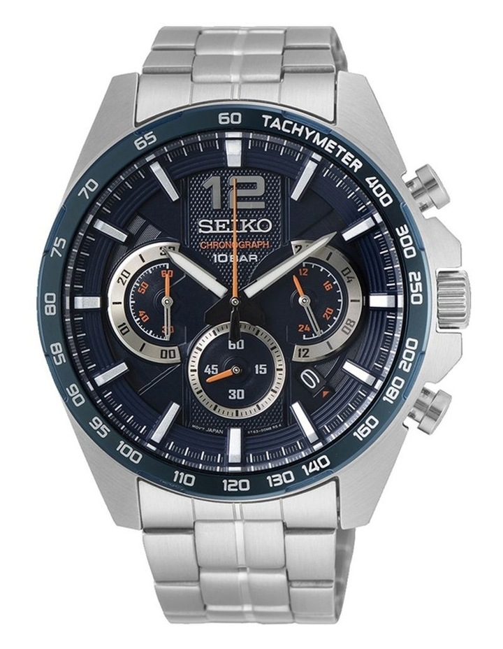 Gents Sports Chronograph Watch Seiko SSB345P image 1