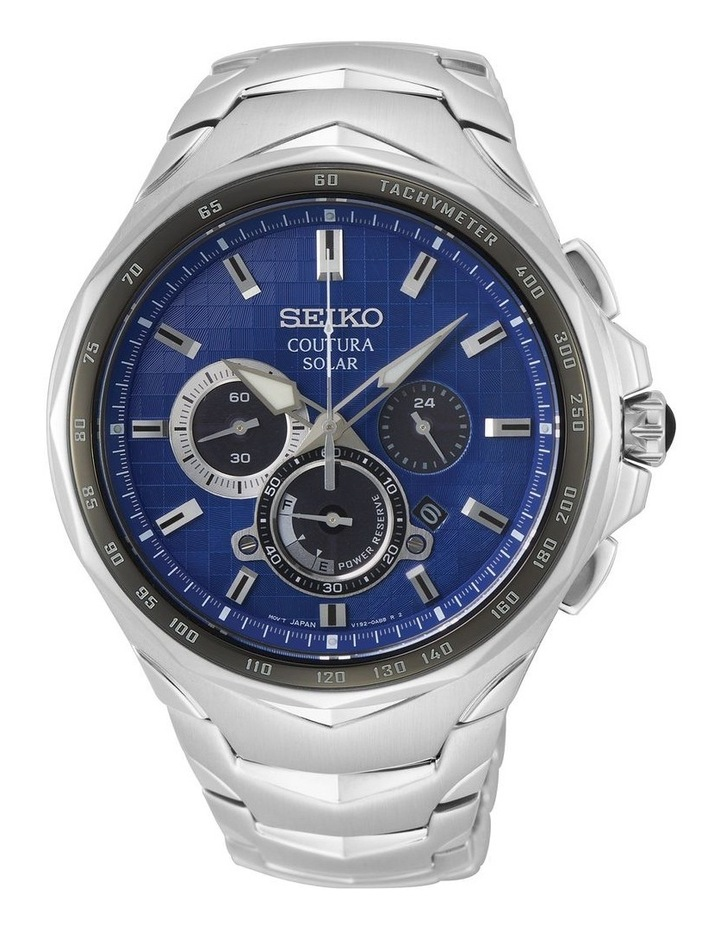 Gents Coutura Solar Chronograph Watch Seiko SSC749P image 1