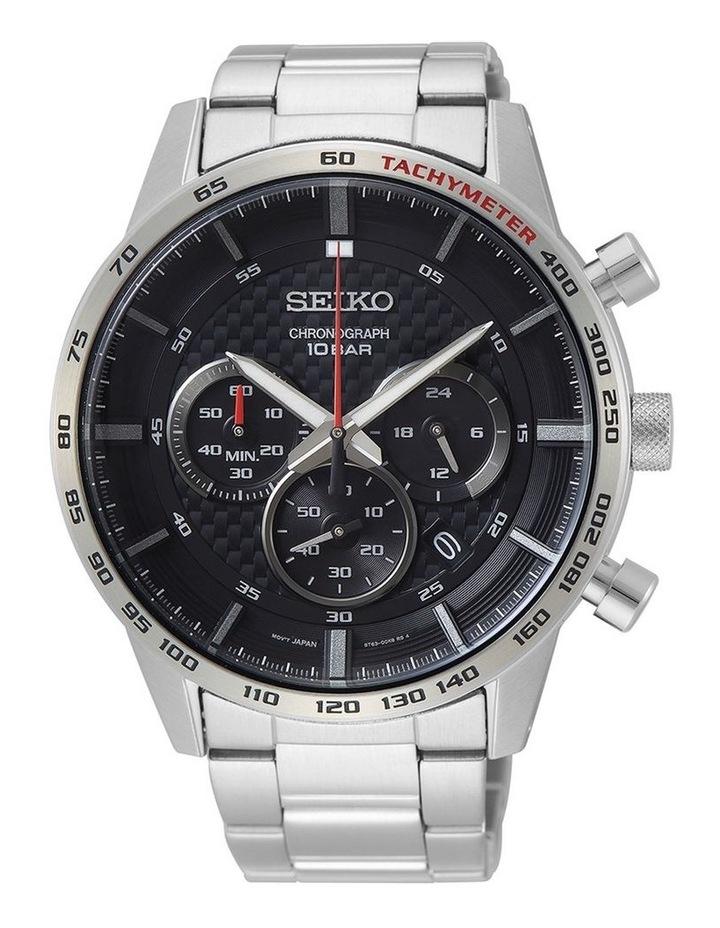 Gents Sports Chronograph Watch Seiko SSB355P image 1