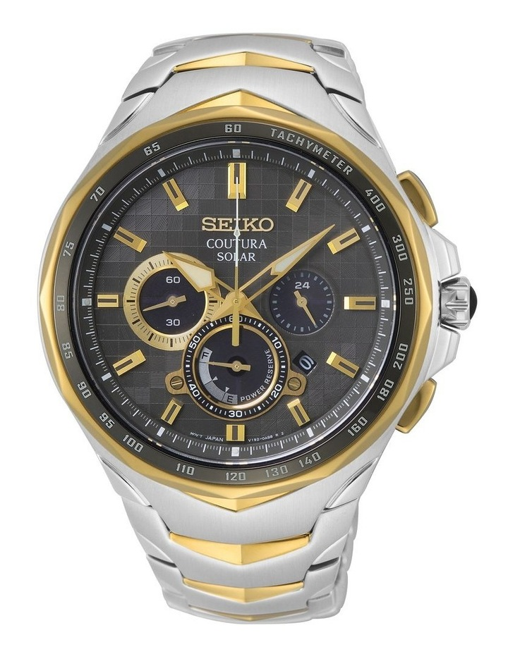 Gents Coutura Solar Chronograph Watch Seiko SSC752P image 1
