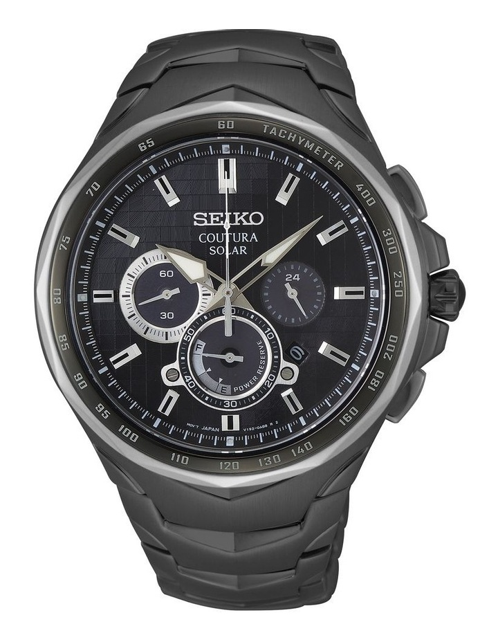 Gents Coutura Solar Chronograph Watch Seiko SSC755P image 1