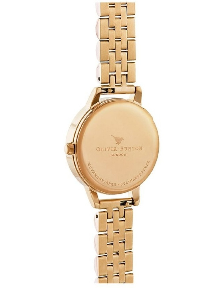 Ob16Mv105 Bejewelled Lace Gold Bracelet Watch image 3