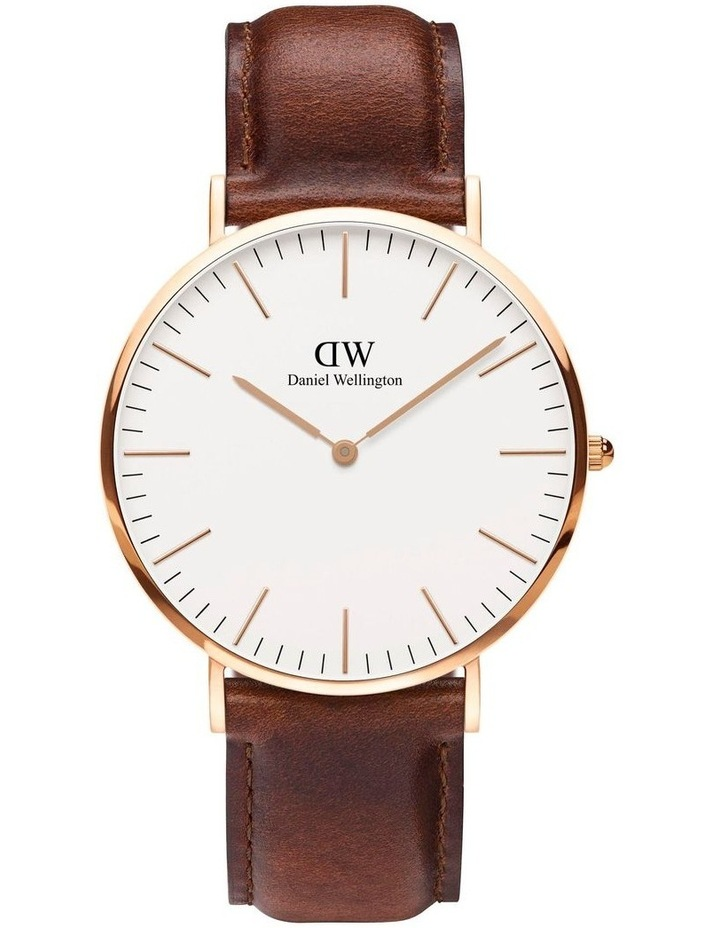 DW00500564 Men's Gift Pack Rose Watch and Nato Strap image 2