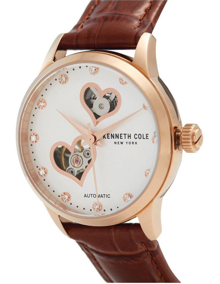 KC50984023 Skeleton Automatic Ladies Rose Gold Watch image 2