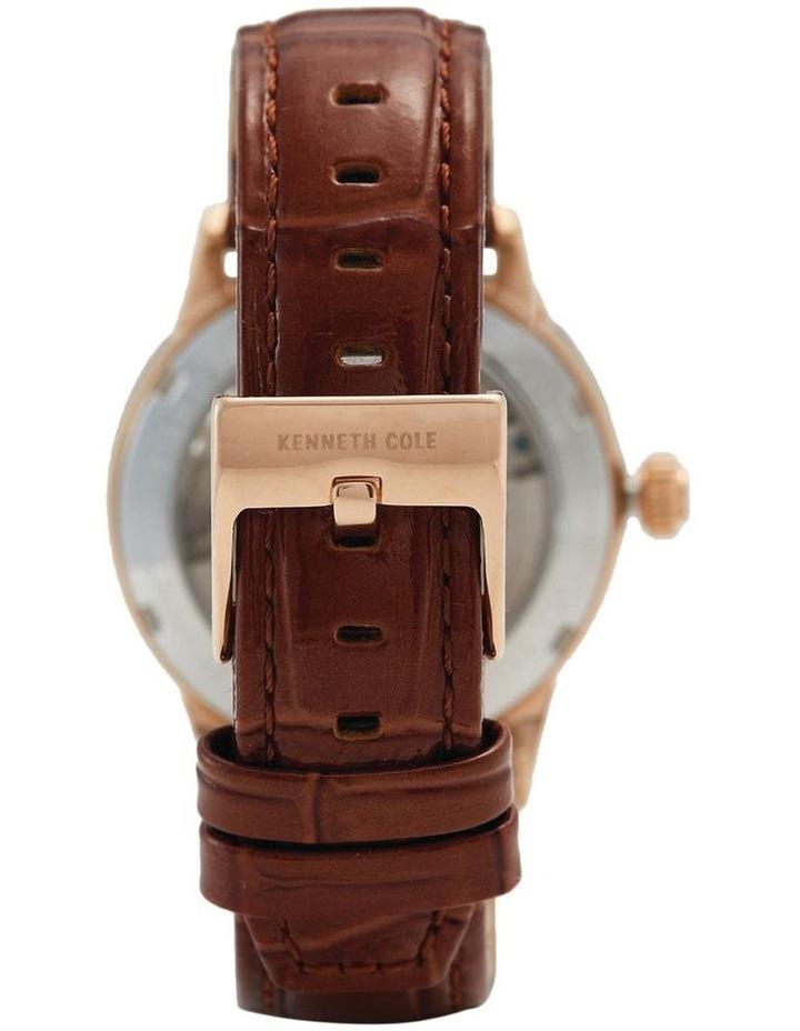 KC50984023 Skeleton Automatic Ladies Rose Gold Watch image 3