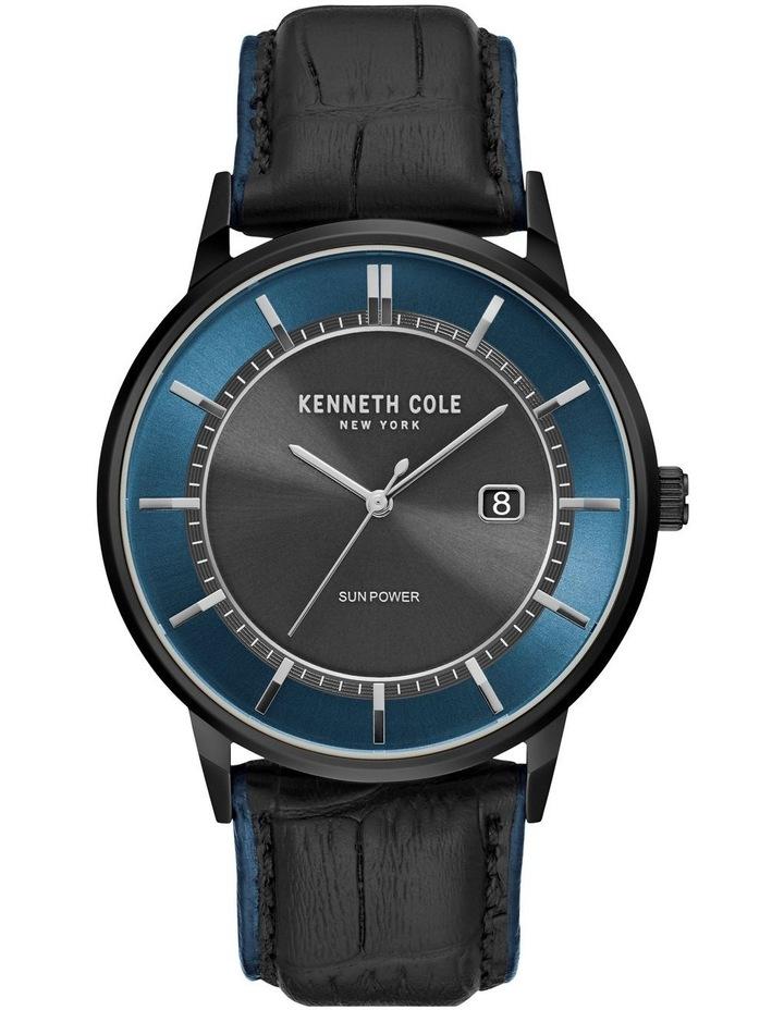 KC50784002 Classic Solar Mens Black Watch image 1