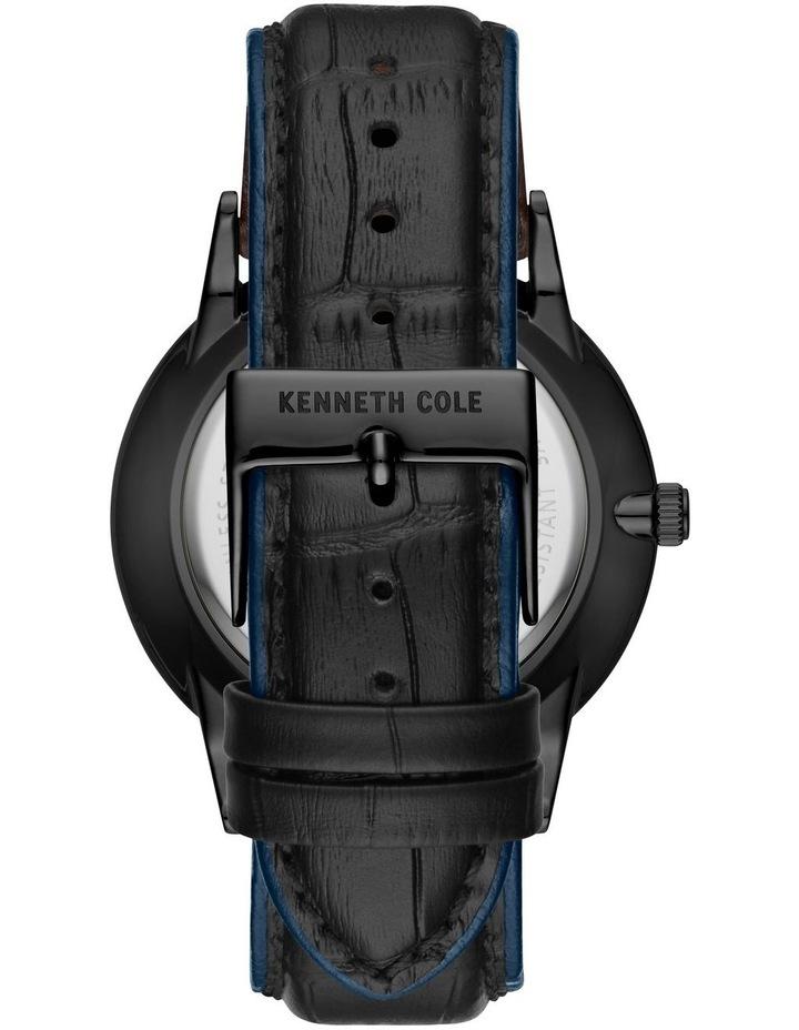 KC50784002 Classic Solar Mens Black Watch image 3