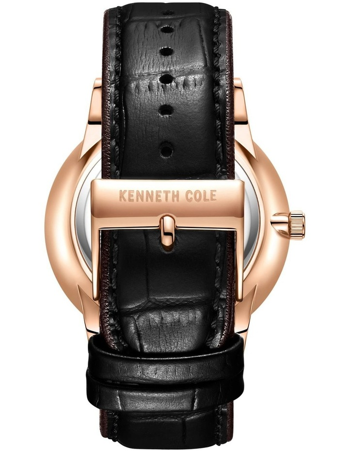 KC50784004 Classic Solar Mens Rose Gold Watch image 3