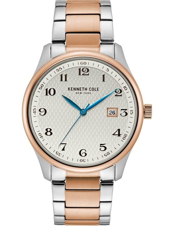 KC50841004 Classic Mens Rose Gold Two Tone Watch image 1