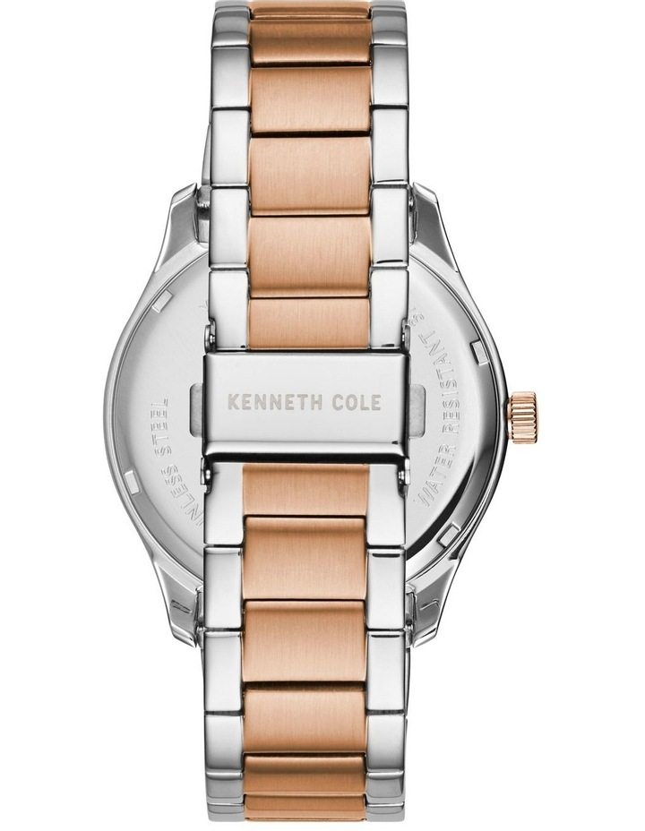 KC50841004 Classic Mens Rose Gold Two Tone Watch image 3