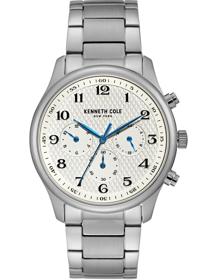 KC51024001 Multifunction Mens Stainless Steel Watch image 1