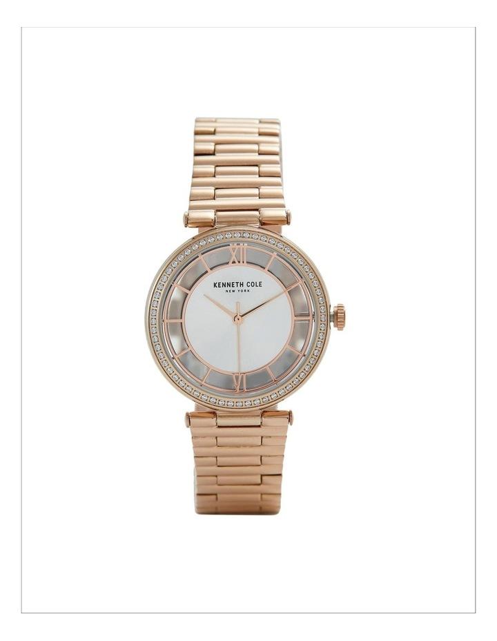 KC51009002 Transparency Ladies Rose Gold Watch image 1