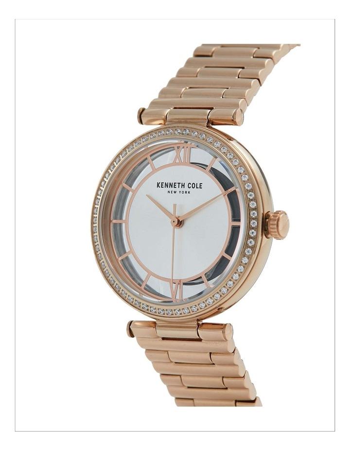KC51009002 Transparency Ladies Rose Gold Watch image 2