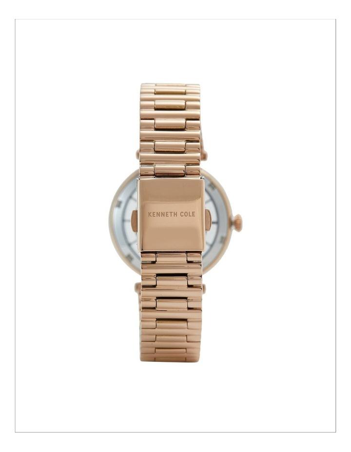 KC51009002 Transparency Ladies Rose Gold Watch image 3