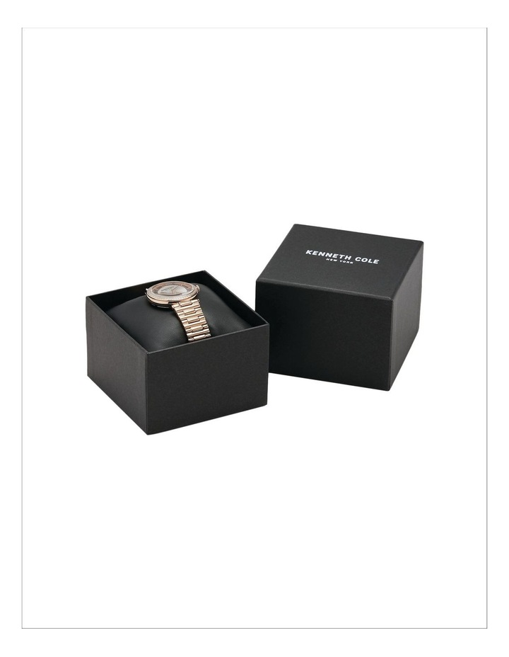 KC51009002 Transparency Ladies Rose Gold Watch image 4