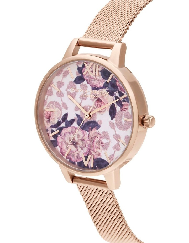 OB16LP01 Wild Flower Rose Gold Watch image 2