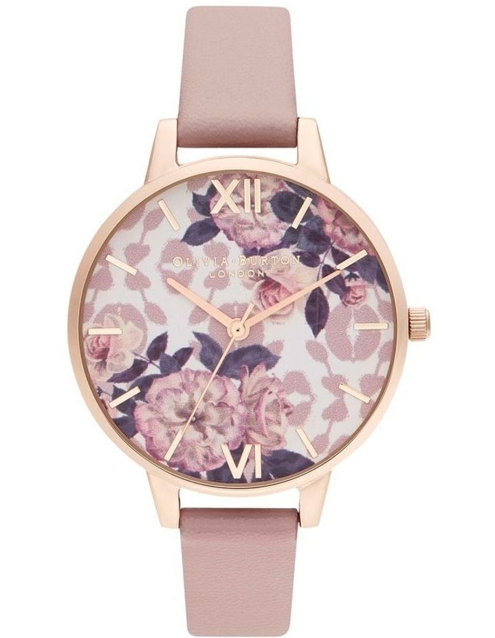 OB16LP03 Wild Flower Rose Gold & Blush Watch image 1