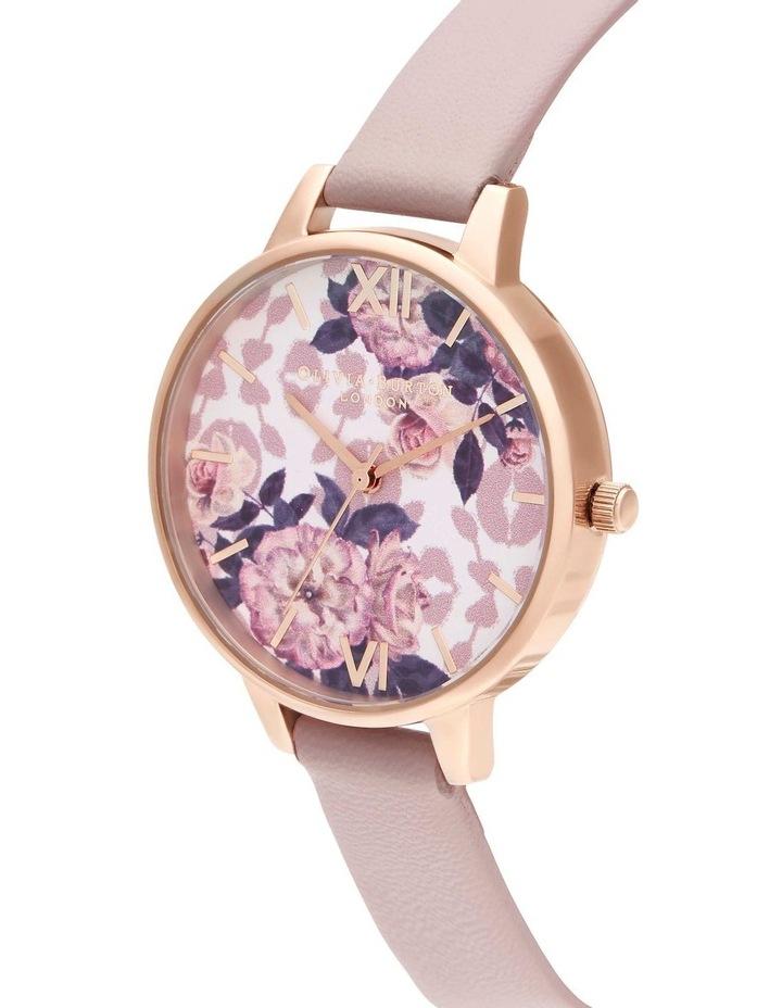 OB16LP03 Wild Flower Rose Gold & Blush Watch image 2