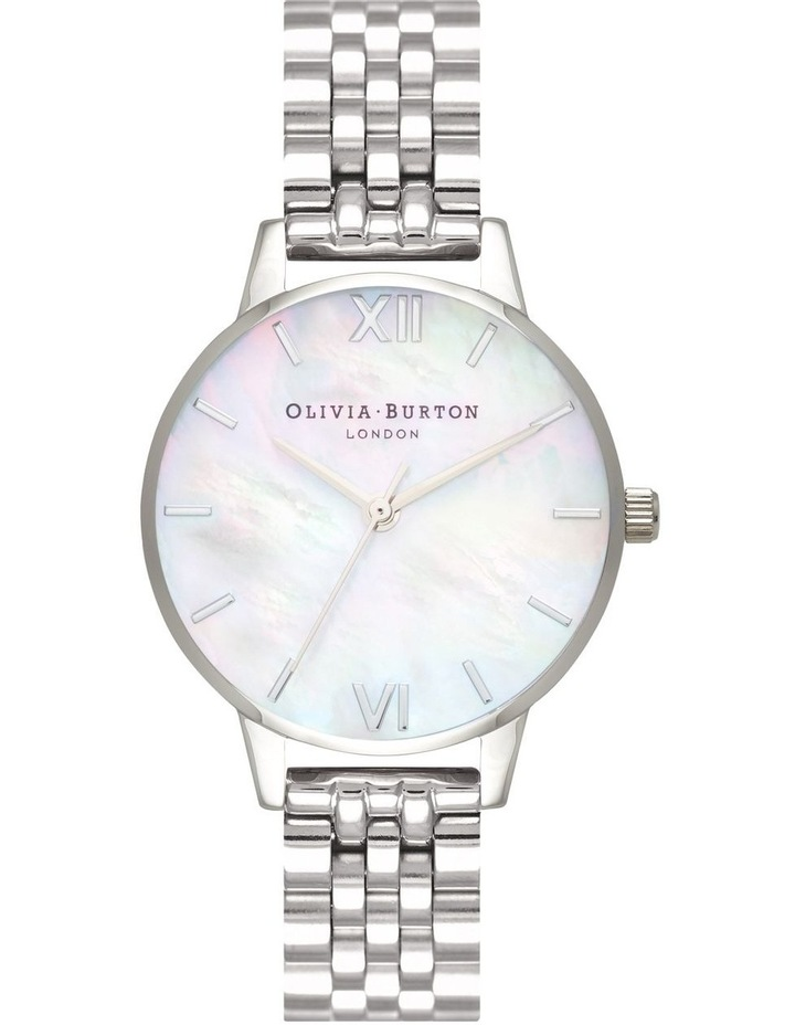 OB16MOP02 Mother Of Pearl Bracelet Silver Watch image 1