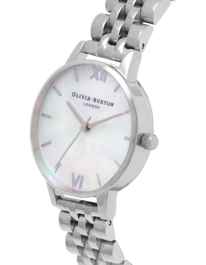 OB16MOP02 Mother Of Pearl Bracelet Silver Watch image 2