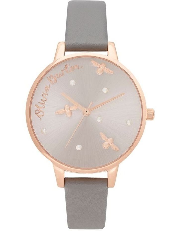 OB16PQ03 Pearly Queen Rose Gold & Grey Watch image 1