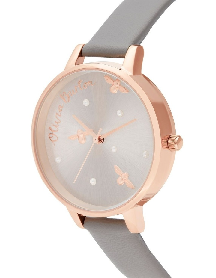 OB16PQ03 Pearly Queen Rose Gold & Grey Watch image 2