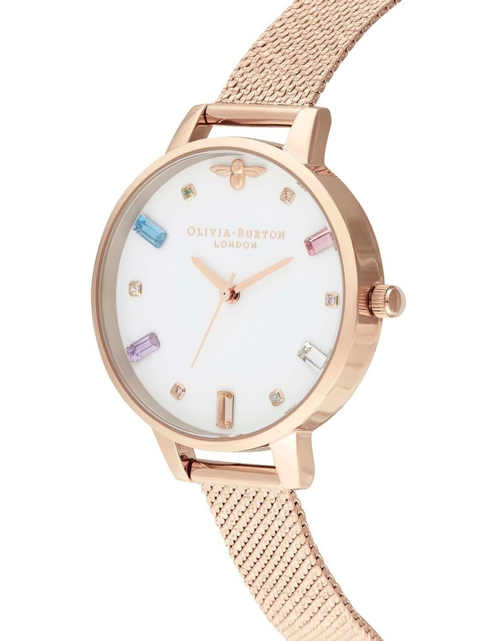 OB16RB15 Rainbow Bee Rose Gold Watch image 2