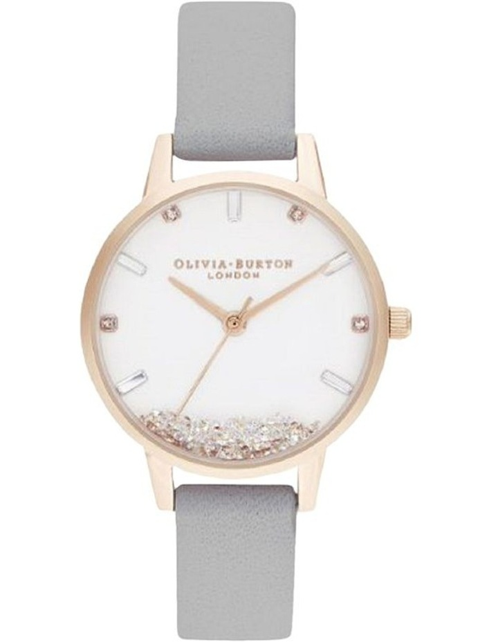 OB16SG08 The Wishing Watch Rose Gold & Grey Watch image 1