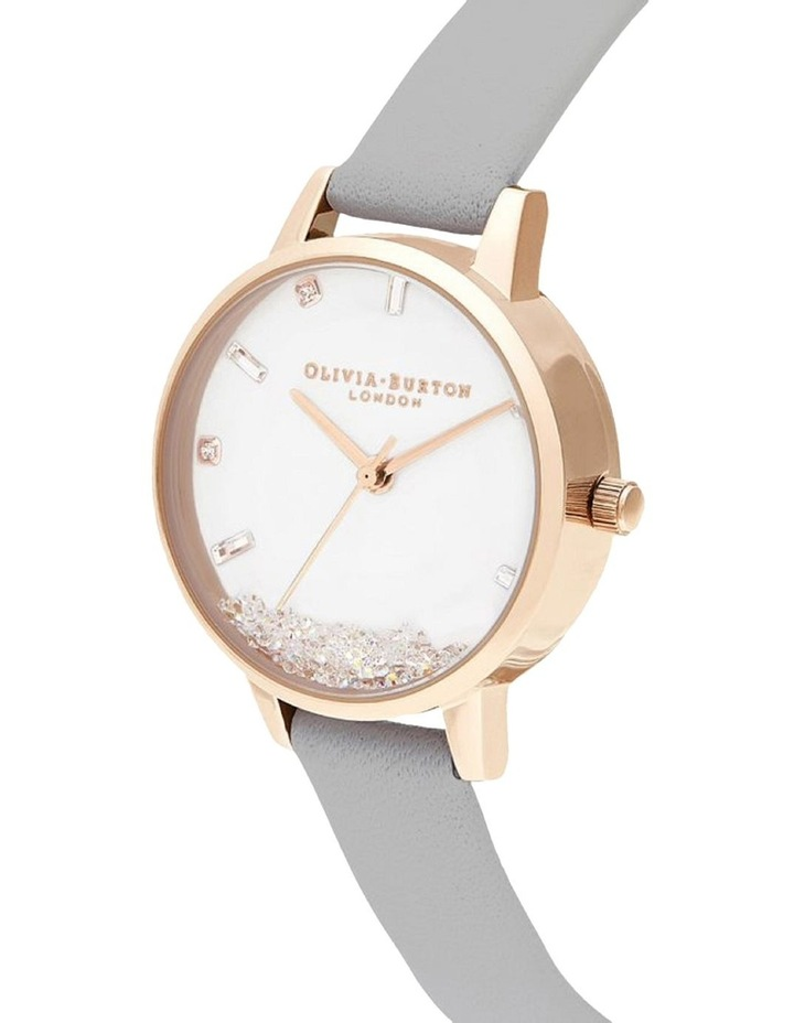 OB16SG08 The Wishing Watch Rose Gold & Grey Watch image 2