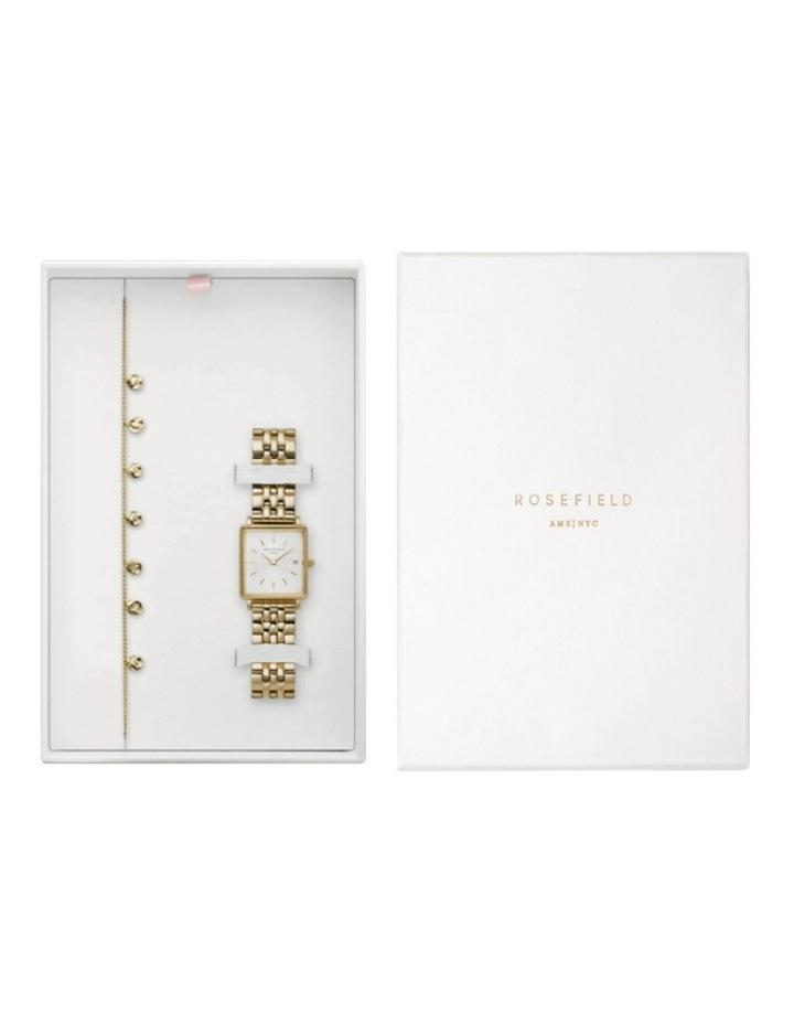 BMWLBG-X241 Boxy Small Gold and Gold Bracelet Box Set image 1