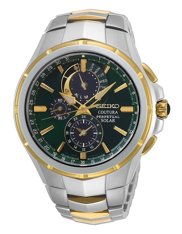 SSC764P Coutura Perpetual Chronograph Green & Gold Dial image 1