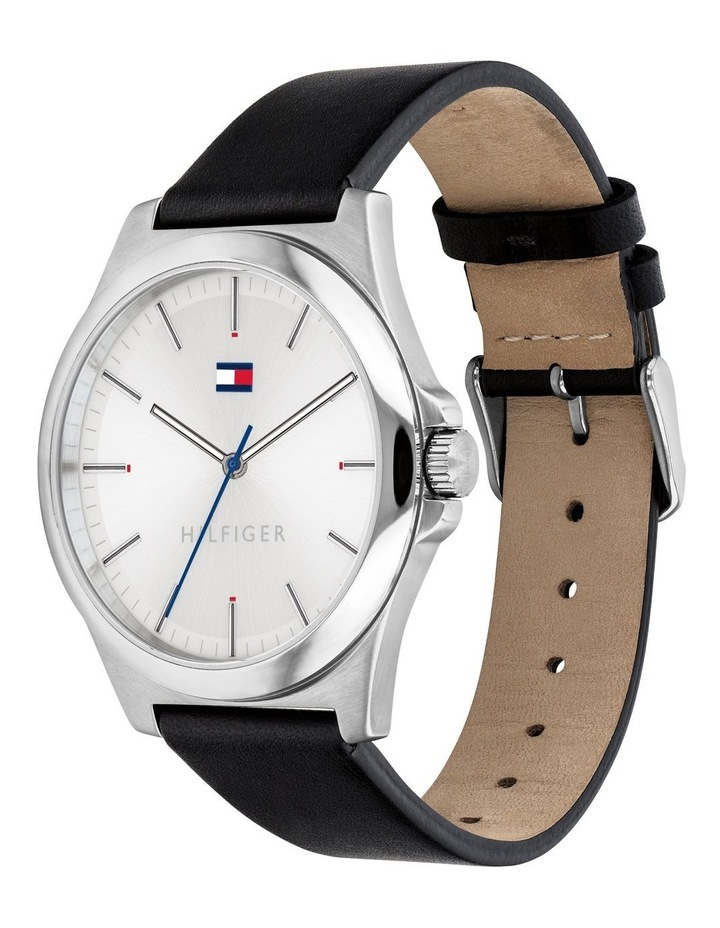 Black Leather Mens Watch - 1791716 image 2