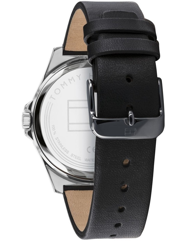Black Leather Mens Watch - 1791716 image 3